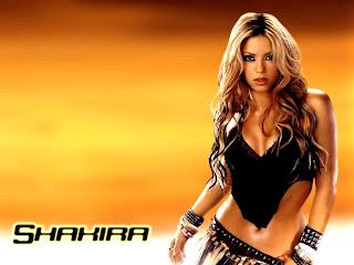 Shakira Sexy Wallpaper