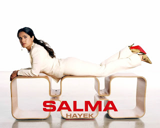 Sexy Salma Hayek Wallpaper