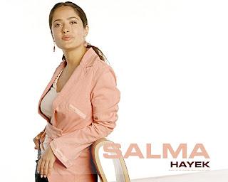 Salma Hayek Cute Wallpaper