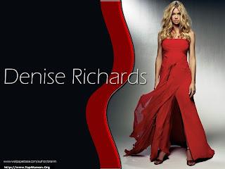 Denise Richards Beautyful Wallpaper