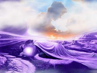 Dreams In Cloud Beautiful 3D Wallpaper