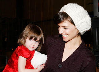 Katie Holmes With Daughter Suri Cruise