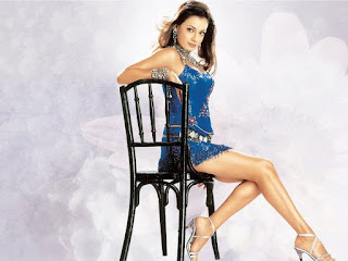 Indian Model Diya Mirza Hot Wallpaper