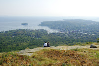 Camden ME Mount Battie trail