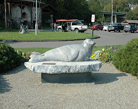 andre the seal in rockport harbor maine