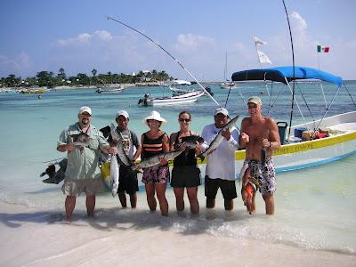 Mayan riviera fishing for Deep sea fishing riviera maya