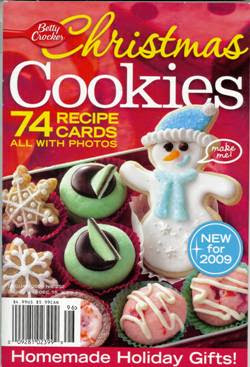 since i work with general mills i have been contacted a few times to vote on covers and headlines for the betty crocker magazines - Betty Crocker Christmas Cookie Recipes
