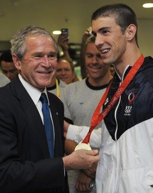 O Michael Phelps ficou lombrado só com o hálito