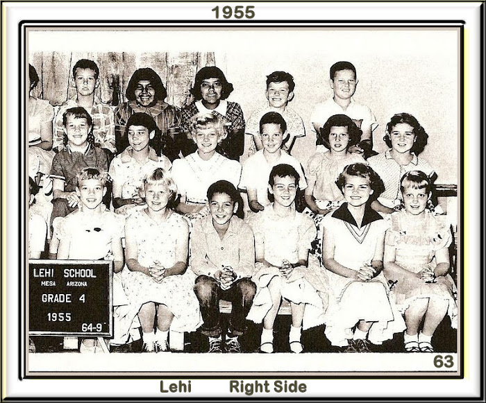 LEHI 4th grade 1955 Right Side