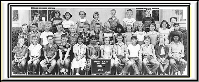 IRVING 4th grade group 1955