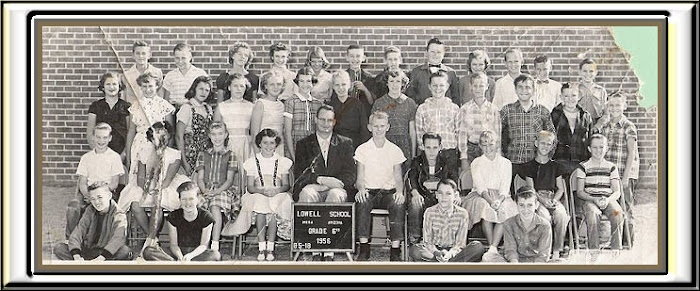 LOWELL 6th grade group 1956 -57
