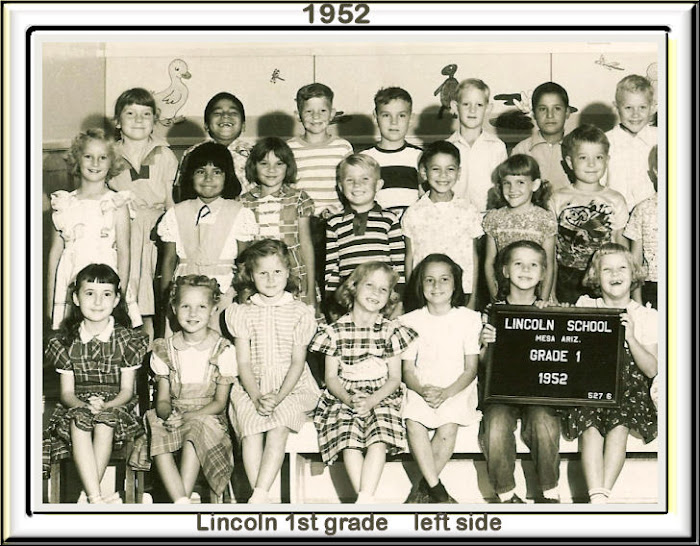 Lincoln 1st grade Left Side