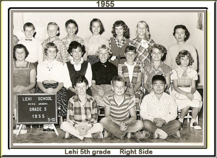 LEHI 5th grade 1955 Right Side