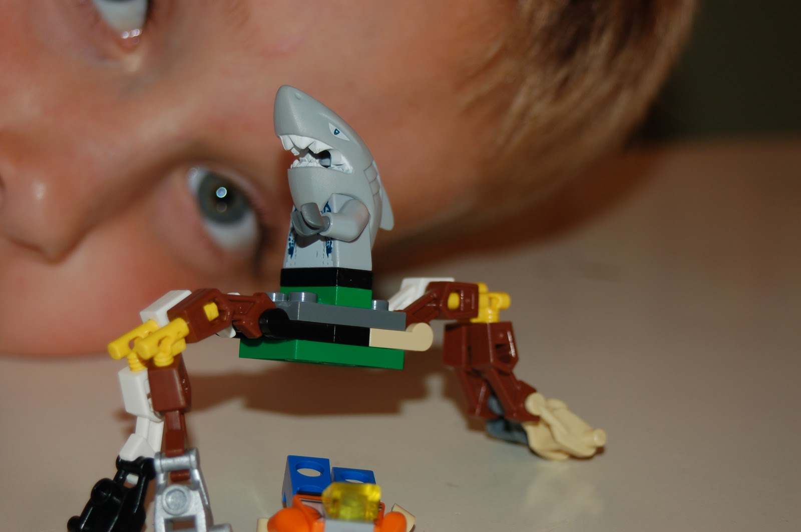 Lego Shark Toys For Boys : Portland comics yeah lets get out of here sharktopus