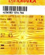 VINTI 1.250 EURO !!!AMBO SECCO!!!
