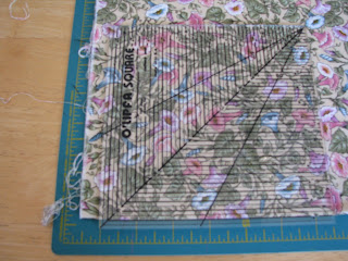 how to cut material for quilting