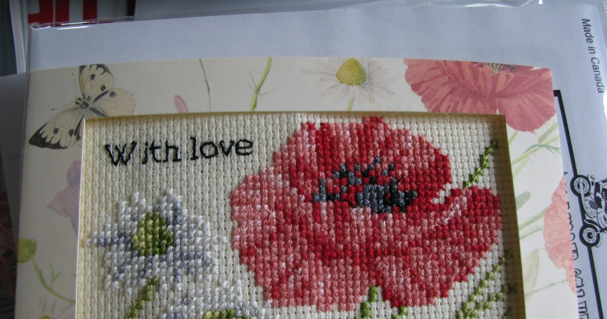 That british woman wish me luck and another project for Country living magazine cross stitch
