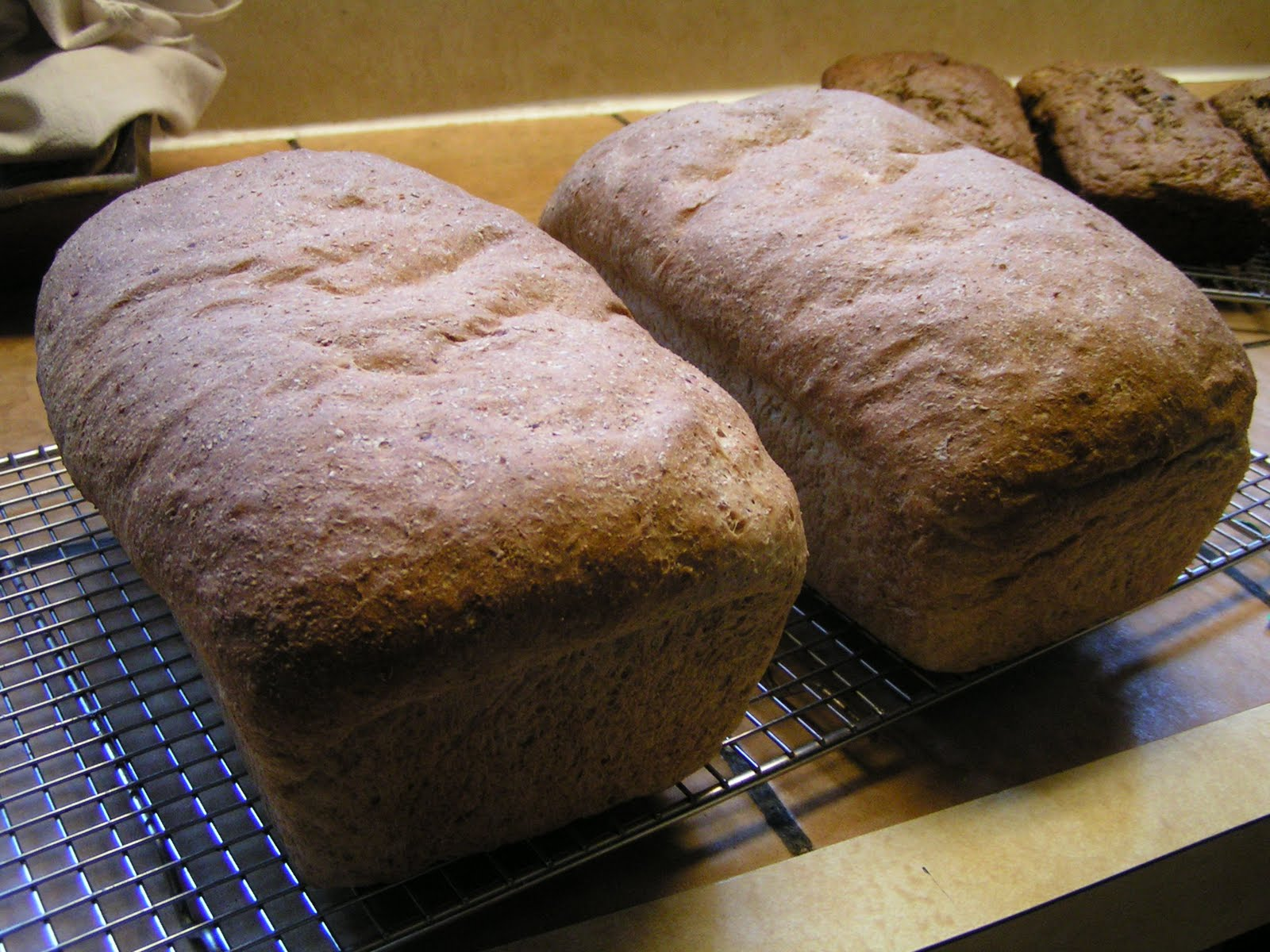 how to make whole grain bread at home
