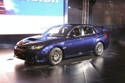 Black Metallic Subaru Wrx 2011 Sedan Turbo. The 2011 Subaru Impreza WRX