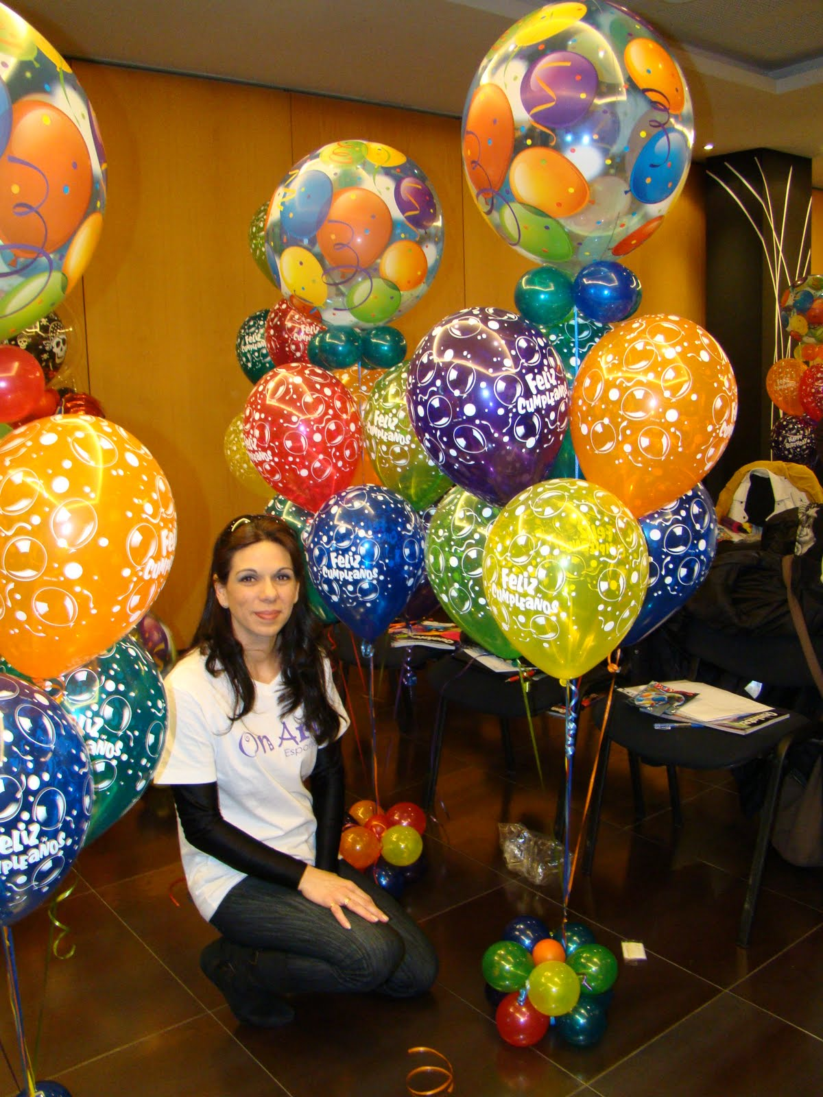 Curso onart de decoraci n con globos qualatex 2010 - Globos para eventos ...