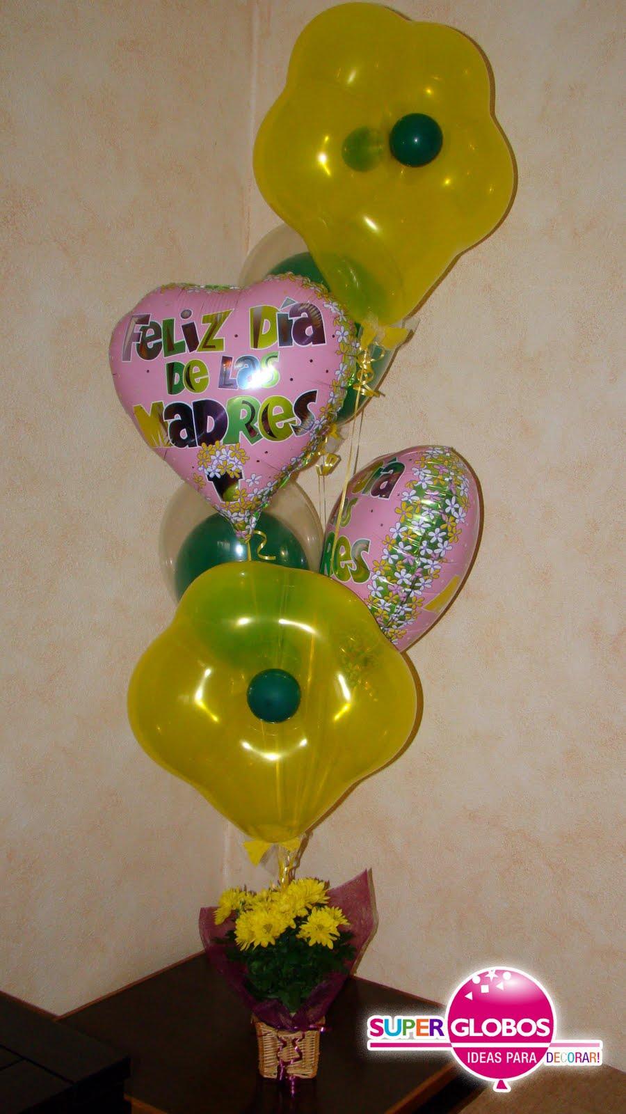 Regalos para el d a de la madre decoraci n con globos for Decoracion 10 de mayo