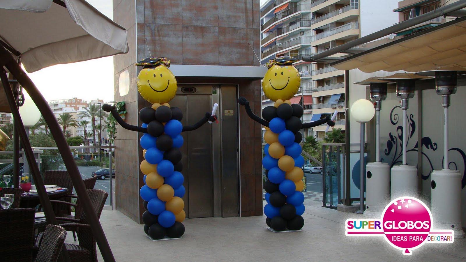 Decoraciones de globos para graduacion car interior design - Decoracion de globos ...