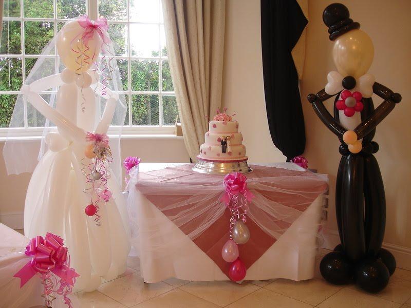 Globos para tu boda decoraci n con globos para eventos y for Decoracion de bodas sencillas y economicas en casa