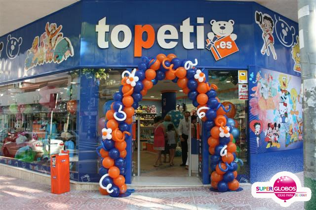Decoraci n jugueter a decoraci n con globos para eventos - Ideas para decorar tu negocio ...