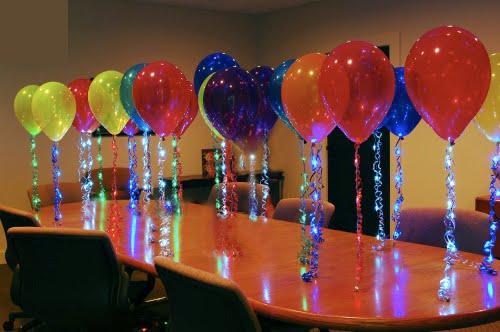 Globos con chispas decoraci n con globos para eventos for Lo nuevo en decoracion