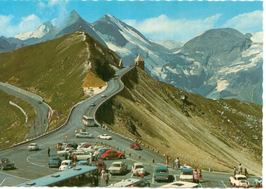 Grossglockner highway   Wider than a Postcard