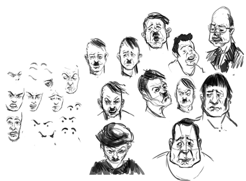 sala de estudos - expressões e músculos da face Expressoes