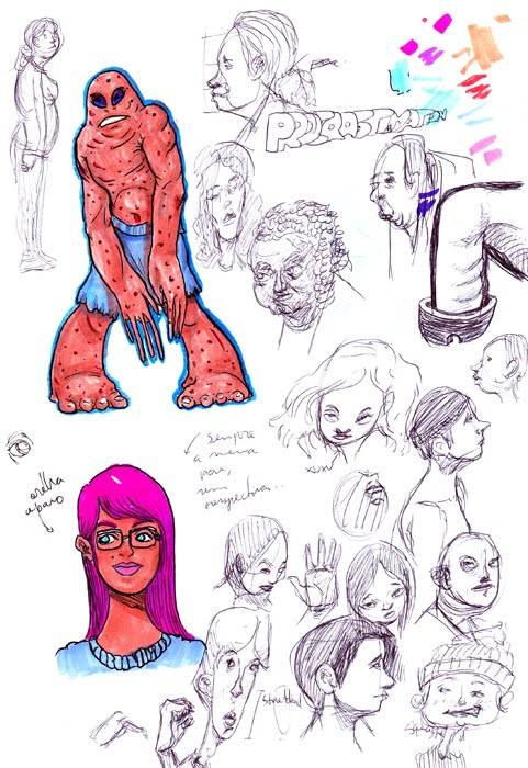 Tony Neto Sketchbook Aleatorios