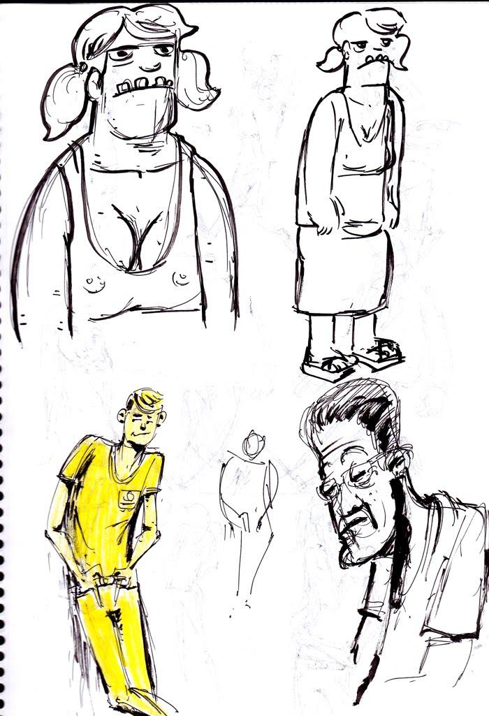 Tony Neto Sketchbook Sketchbook