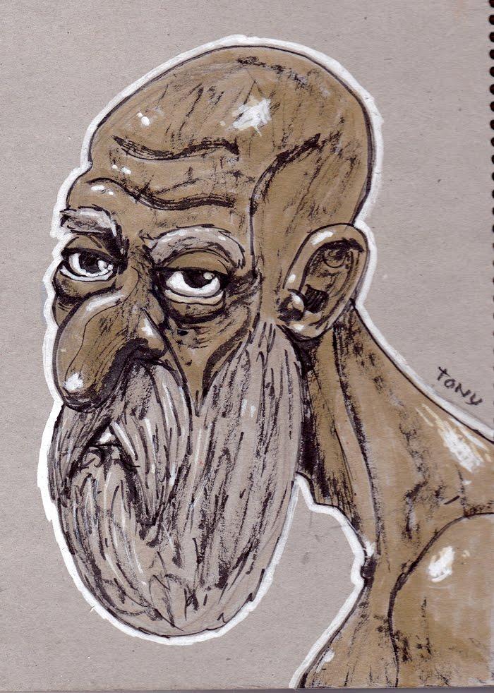 Tony Neto Sketchbook Velho