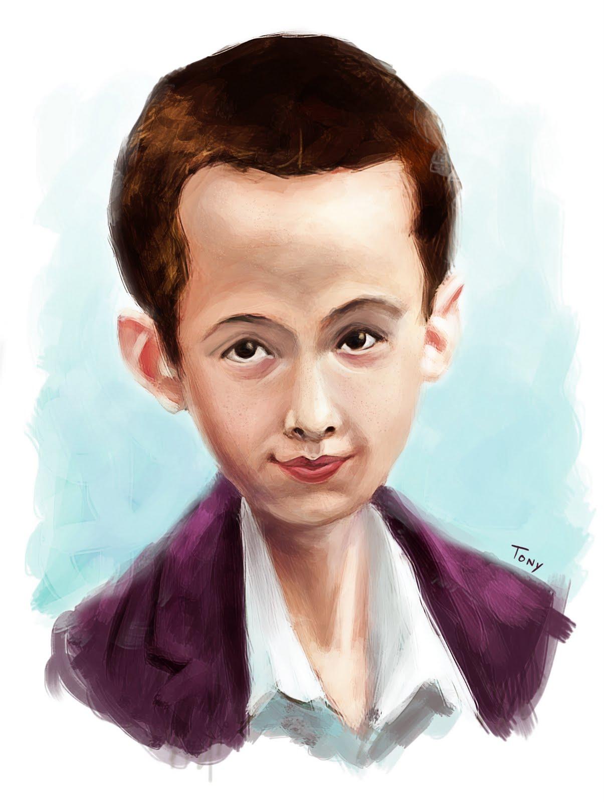 Tony Neto Sketchbook Kid