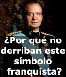 """Juan Carlos, """"rey"""" legal e ilegítimo por la gracia de Franco y la Constitución de 1978"""