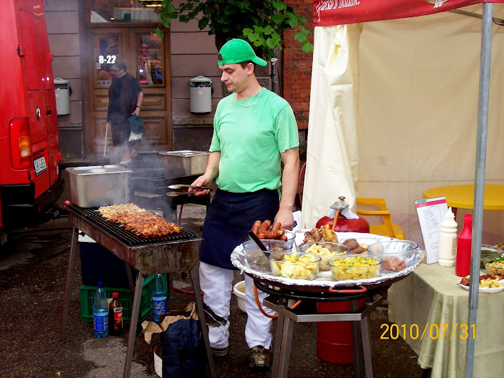 Every year there are Cesis City Festival