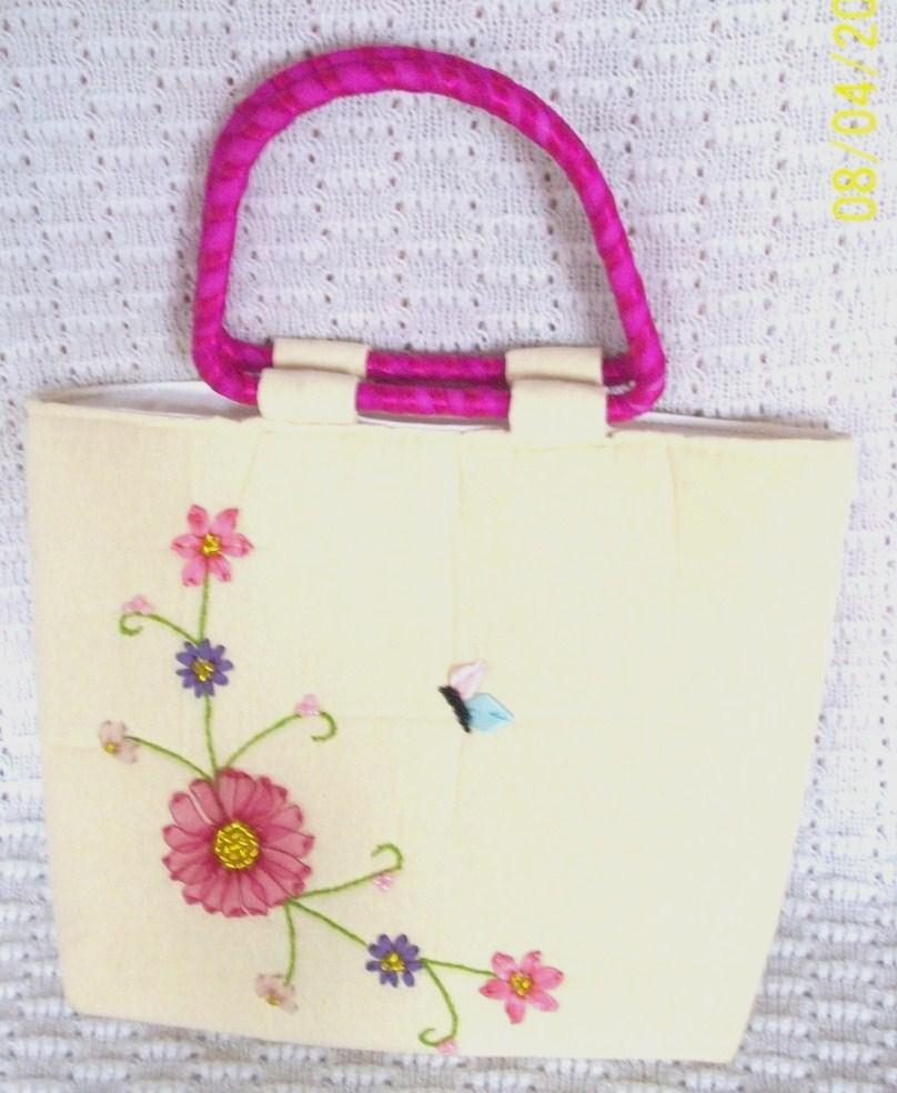Manualidades gemastar bolsas de manta pintadas y o bordadas - Manualidades a mano ...