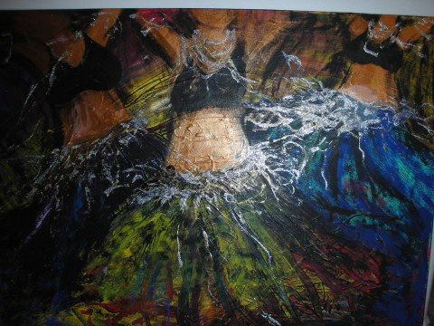 Belly Dancing Abstract