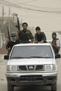 Mahdi Army fighters in Basra
