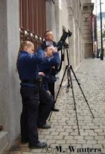 La police de Bruxelles surveille
