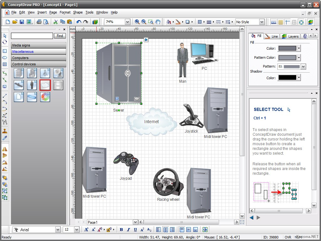 ConceptDraw Office Pro 8.0.7.3