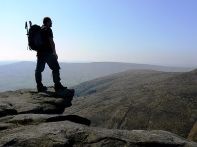 On Upper Tor on the southern Kinder edges