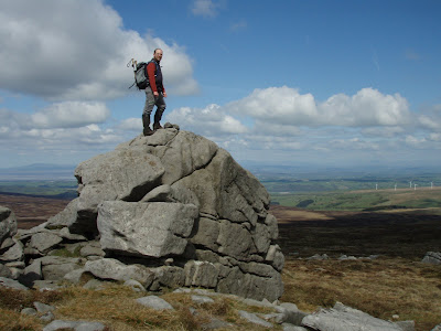 Standing on Ward's Stone - the highest point in the Bowland fells