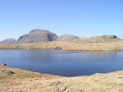 Sprinkling Tarn, a potential campsite for my first wild camping expedition
