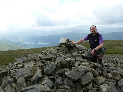 On Seat Sandal in June 2009 - the last time I climbed a Wainwright