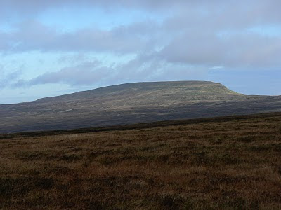 Mickle Fell - top of my 'to do' list in the North Pennines in 2011