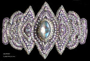 crystal beadwork