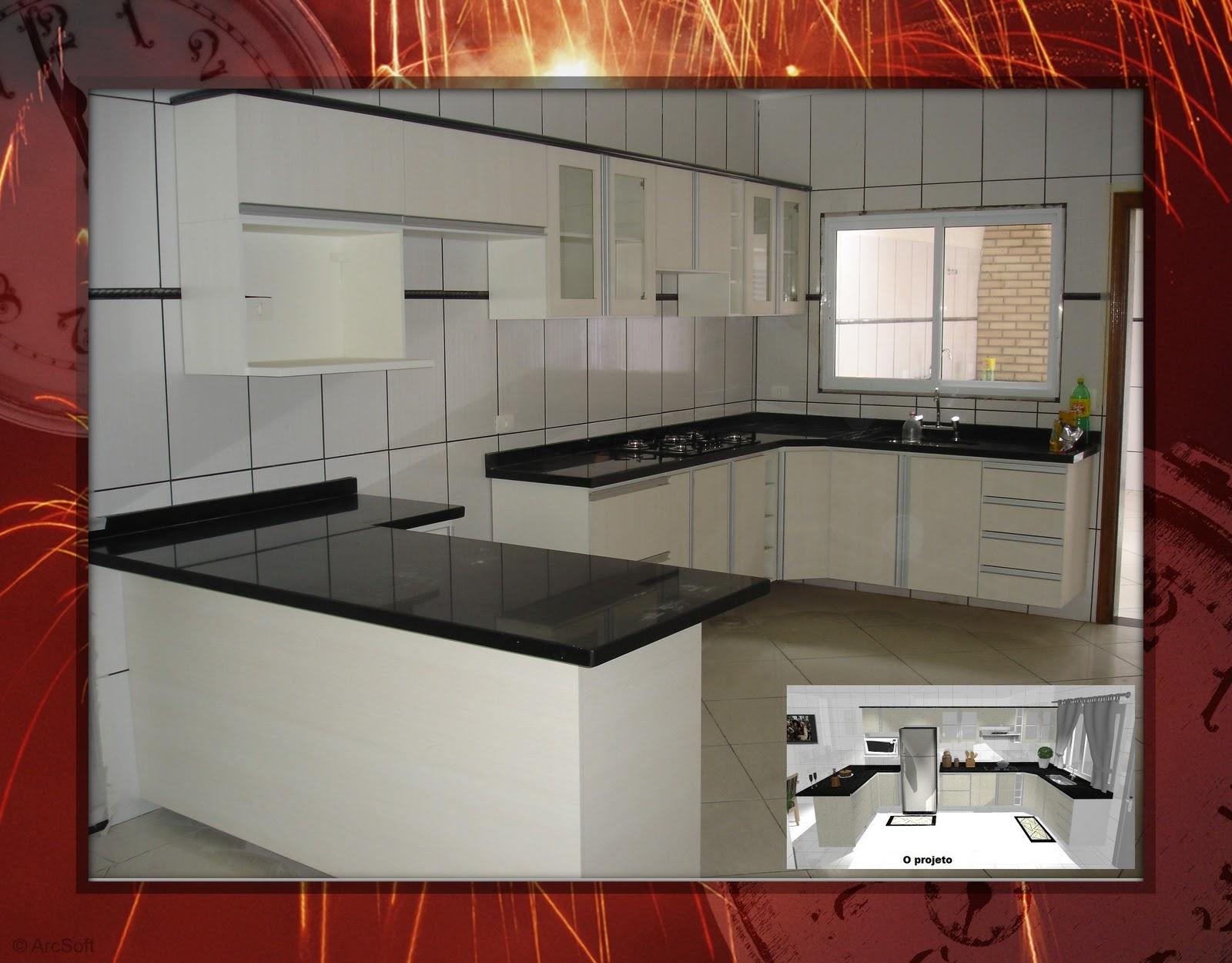 Criart Móveis e Design de Interiores: Cozinha Estrelato #A94122 1600 1250
