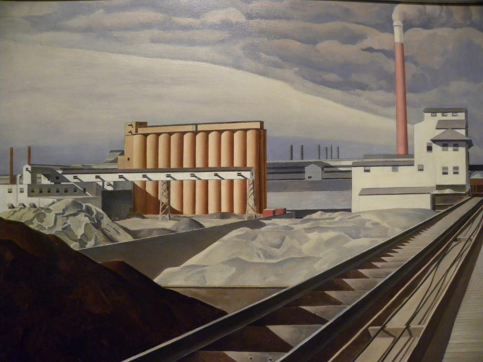 Art history news twentieth century american art for 20th century motor company